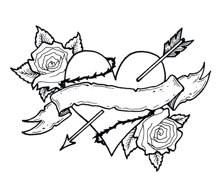 736x593 Top Rated Rose Coloring Page Images Rose Flower Coloring Page View