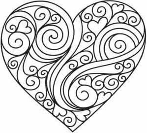 299x270 Heart Drawing Design