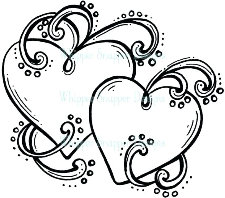 728x641 Hearts With Wings Coloring Pages Cool Heart Design Ng Pages Wings