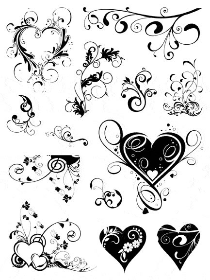 433x576 Beautiful Heart Tattoos With Meanings
