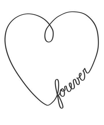 360x432 Heart Design Drawing