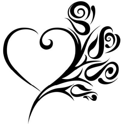 413x412 Best Of Heart Design Drawing Cool Heart Designs To Draw Cliparts