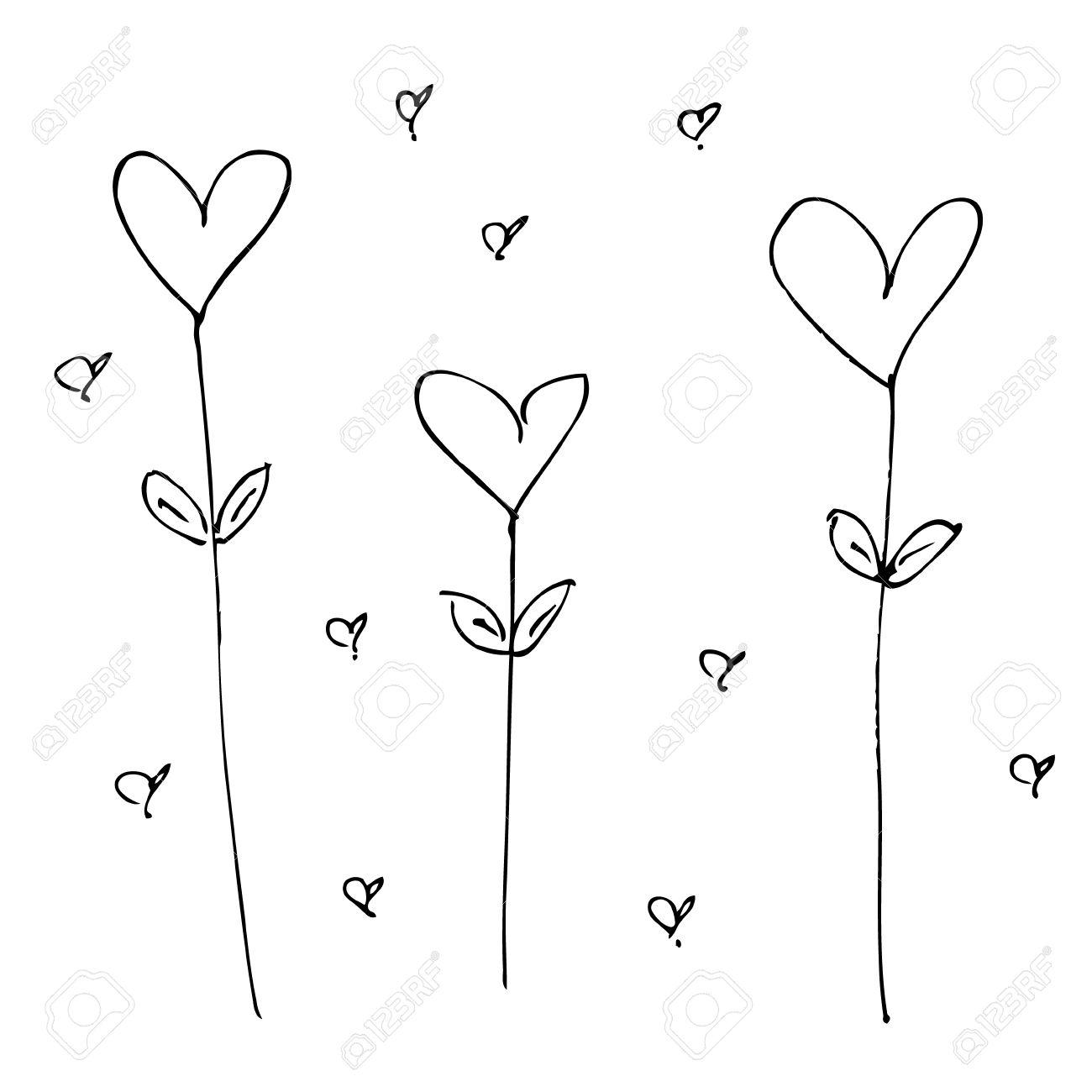 1300x1300 Drawn Hand Love Heart