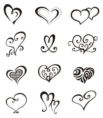 420x480 Gallery Cute Heart Drawings Easy,