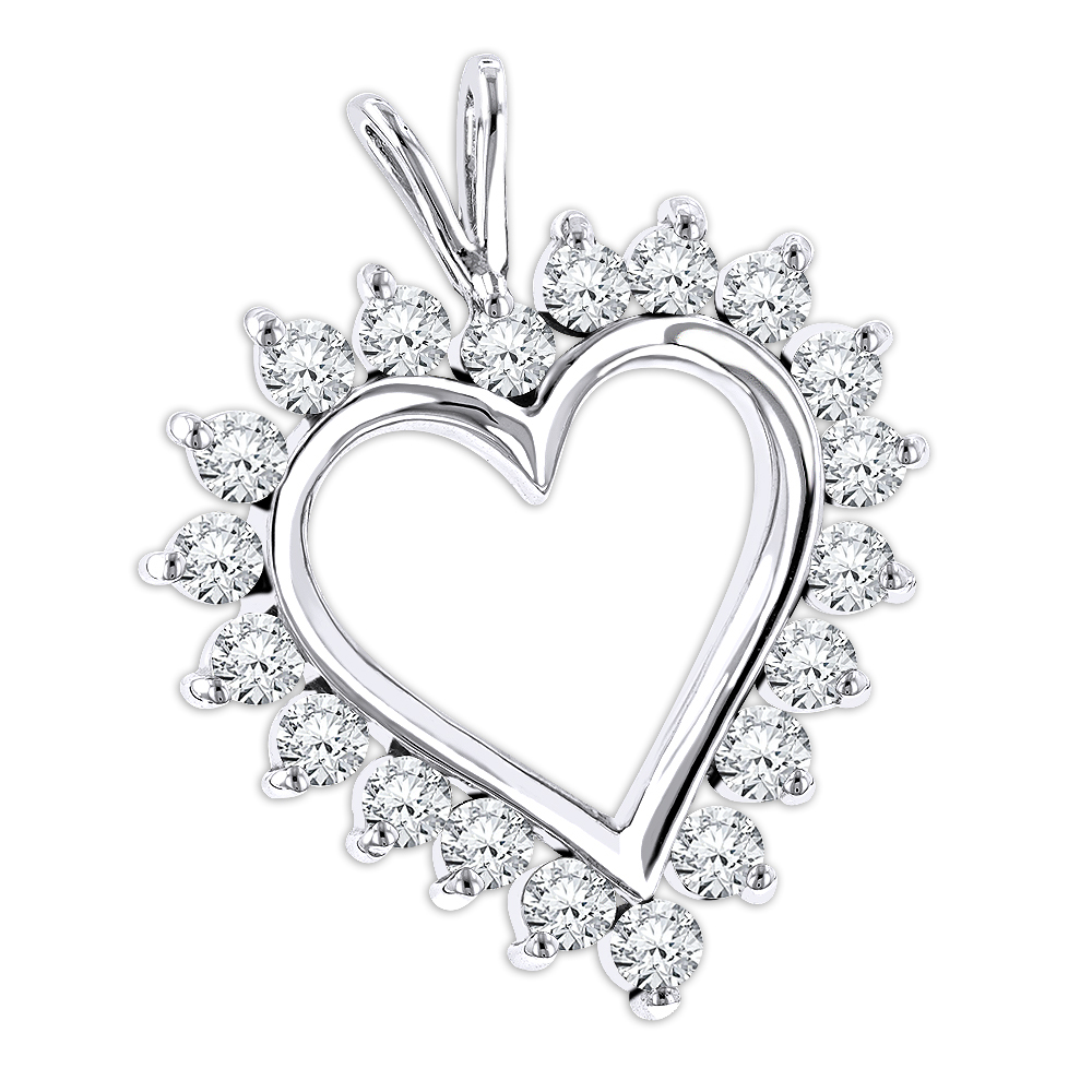 Heart Diamond Drawing
