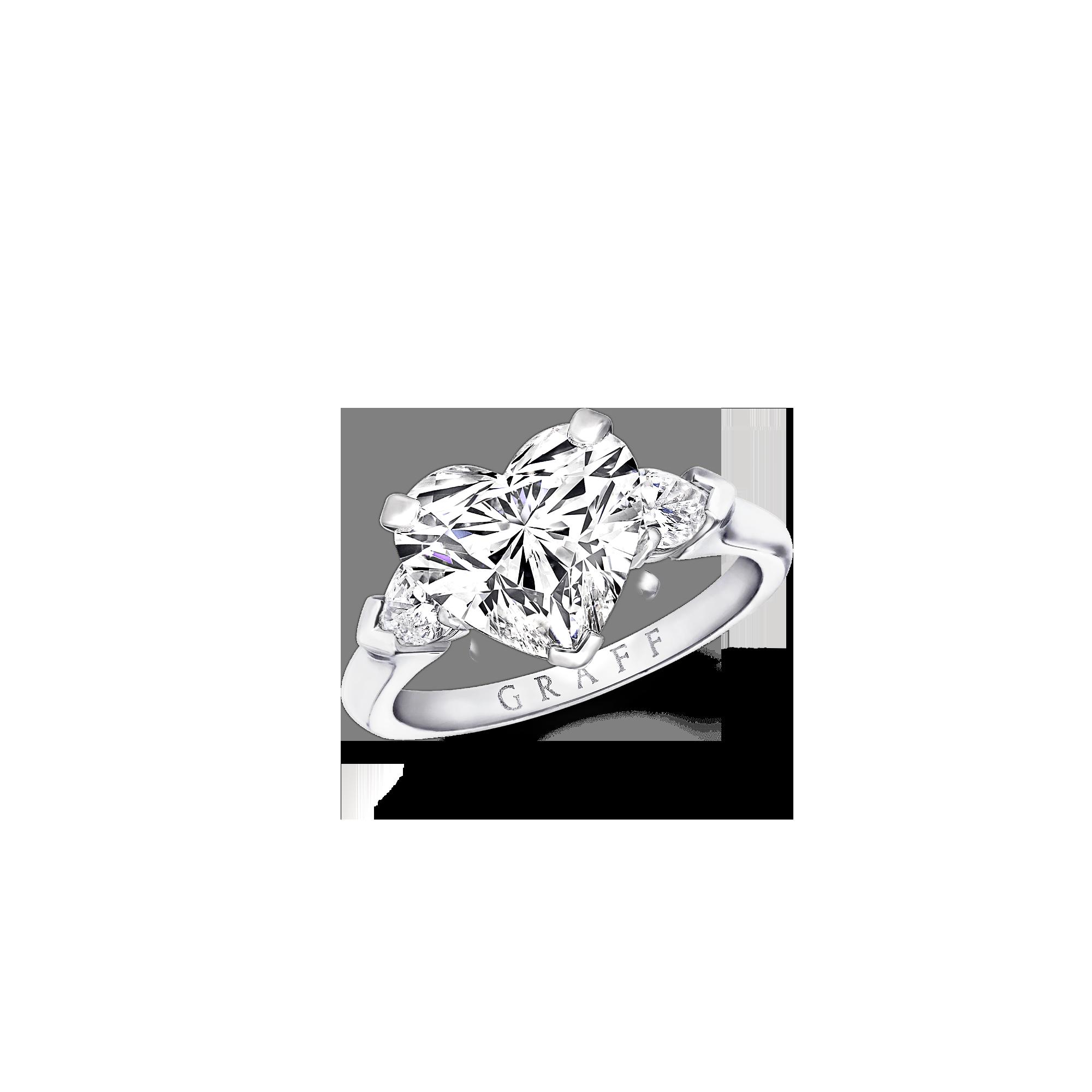 2000x2000 Engagement Ring Promise, Heart Shape Graff