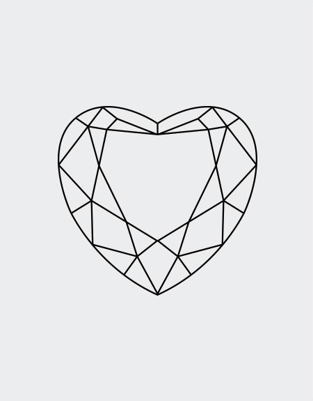 450x575 Heart Cut