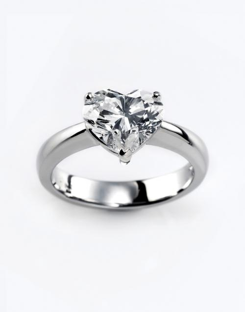 500x637 Heart Shaped Engagement Ring Photos Lovetoknow
