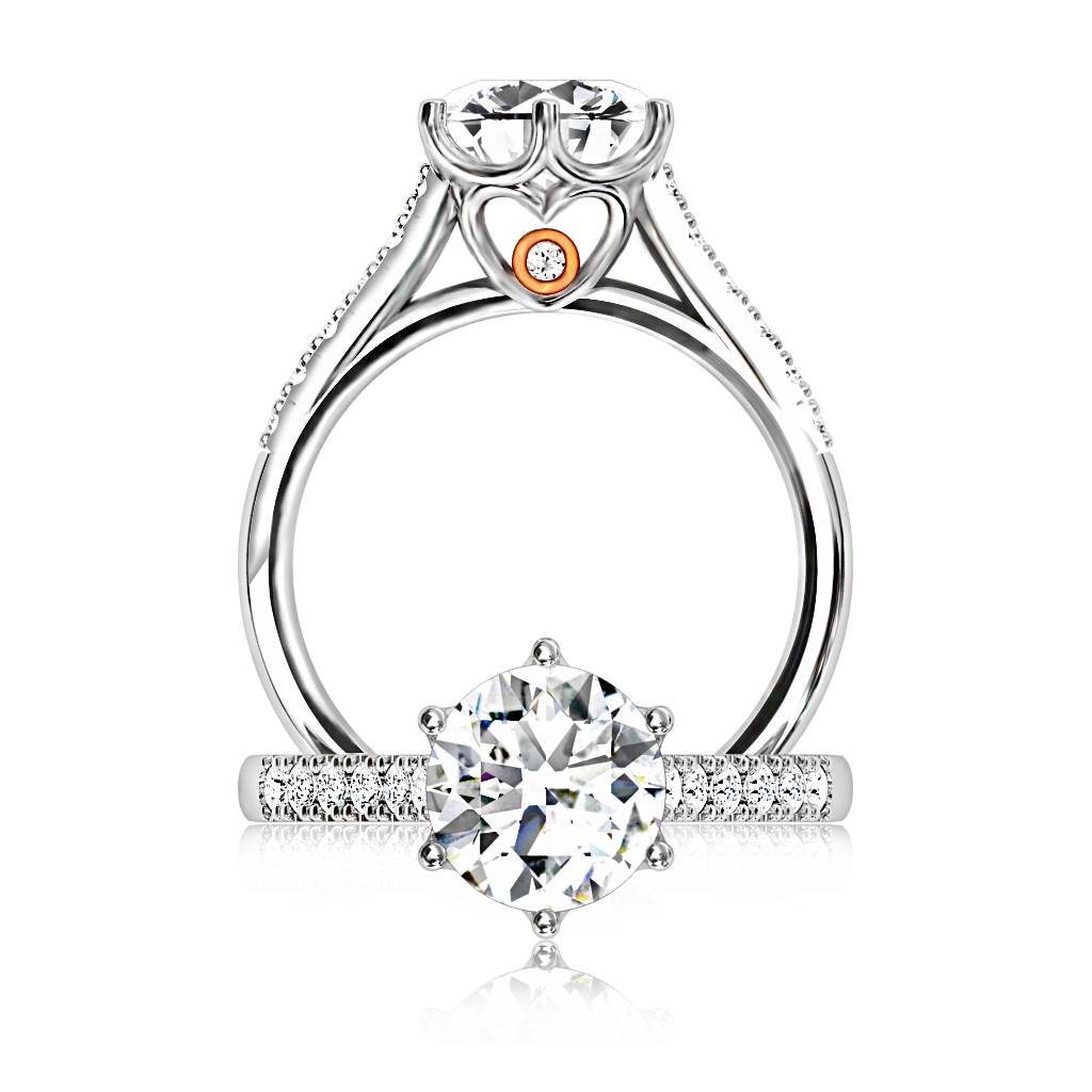 1024x1024 The Browns Queen Of My Heart Diamond Ring Browns Jewellers