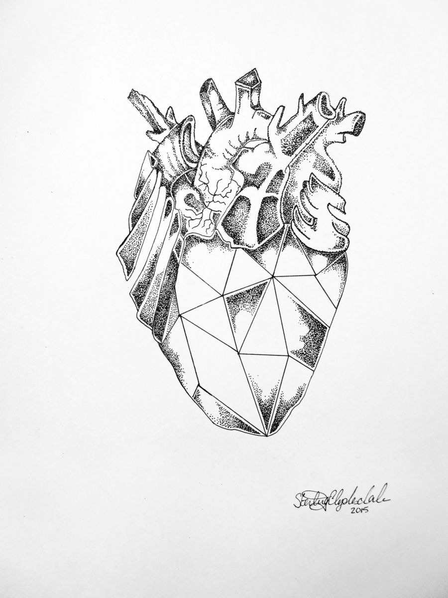900x1200 Diamond Heart (Sterling Clydesdale)