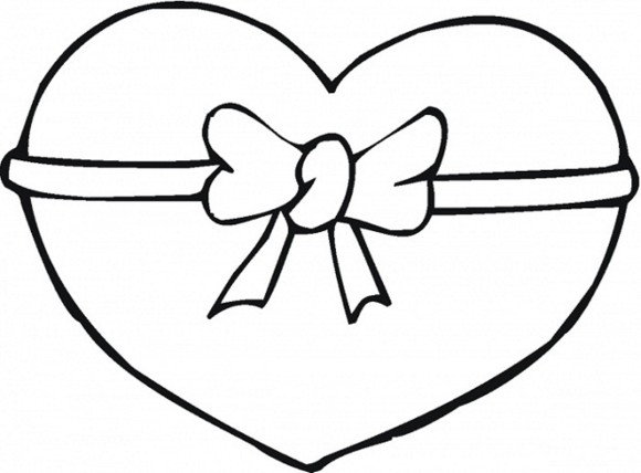 580x428 How To Draw Easy Hearts Drawing Of Hearts Free Download Clip Art