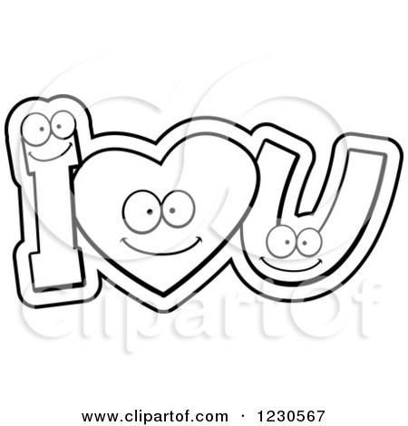 450x470 Heart U Clipart