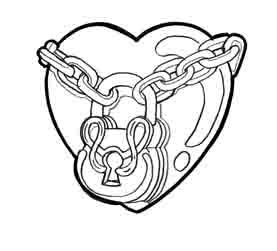 277x251 Heart Tattoo Design By Mu63n