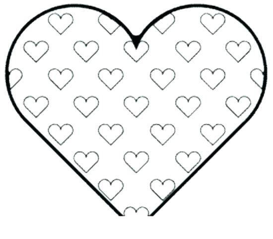 550x481 Heart Coloring Pages With Wings Perfect Free Heart Coloring Pages