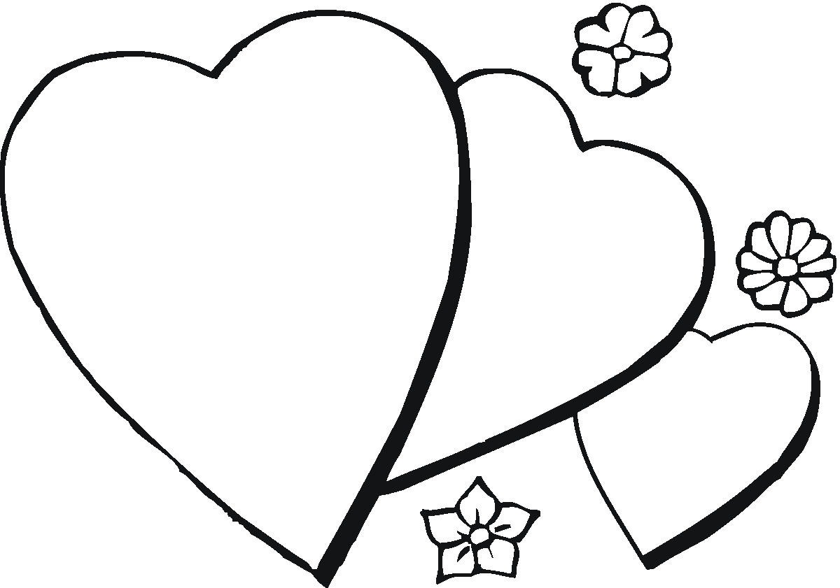 1200x841 2018 Heart Coloring Pages Learning Printable