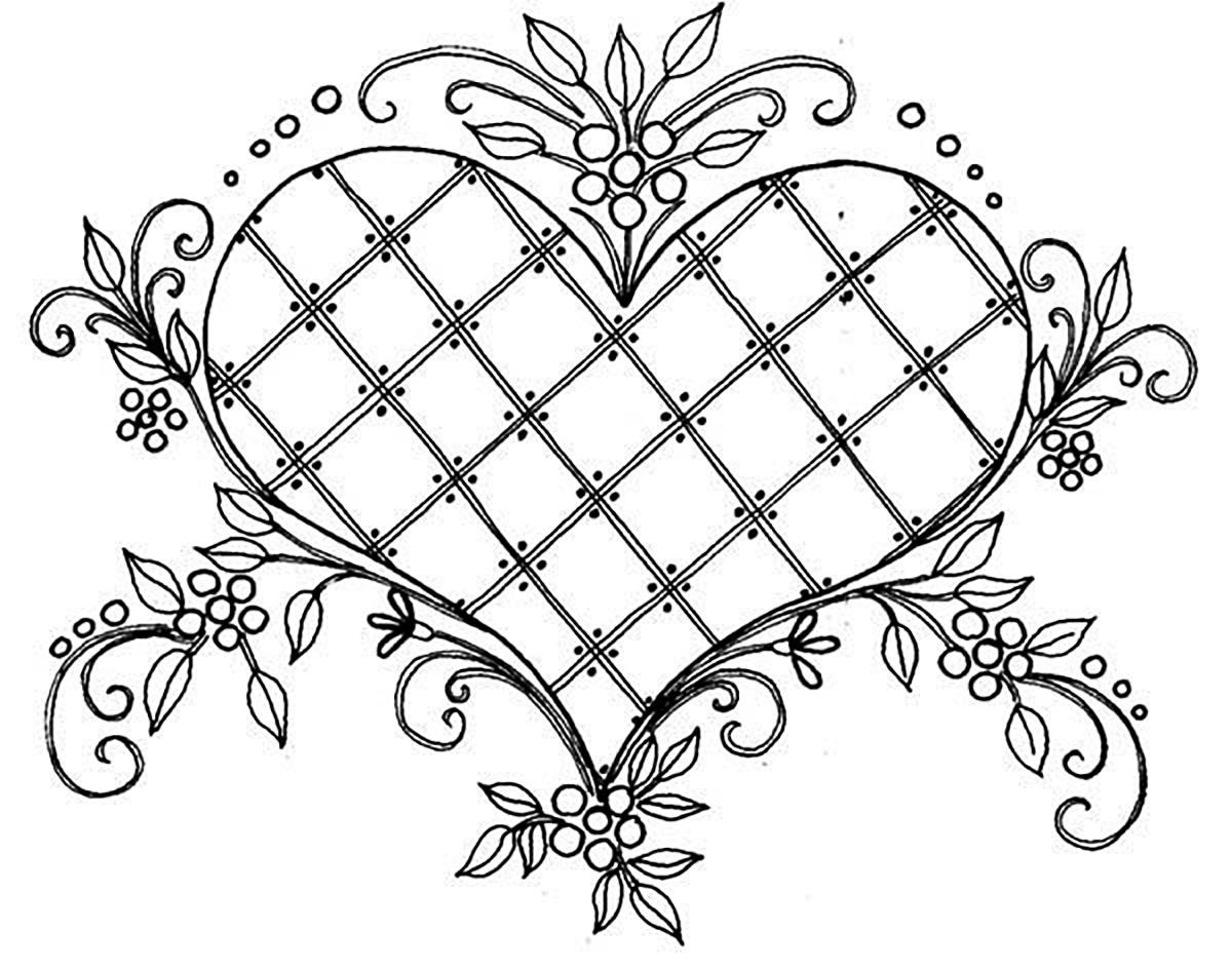 1200x946 Love Beautiful Drawing Vintage