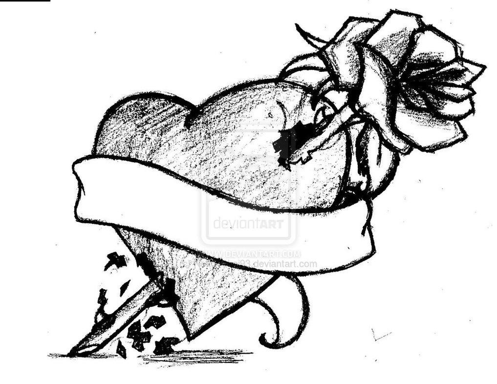 1017x786 Real Heart Drawing Clipart Panda