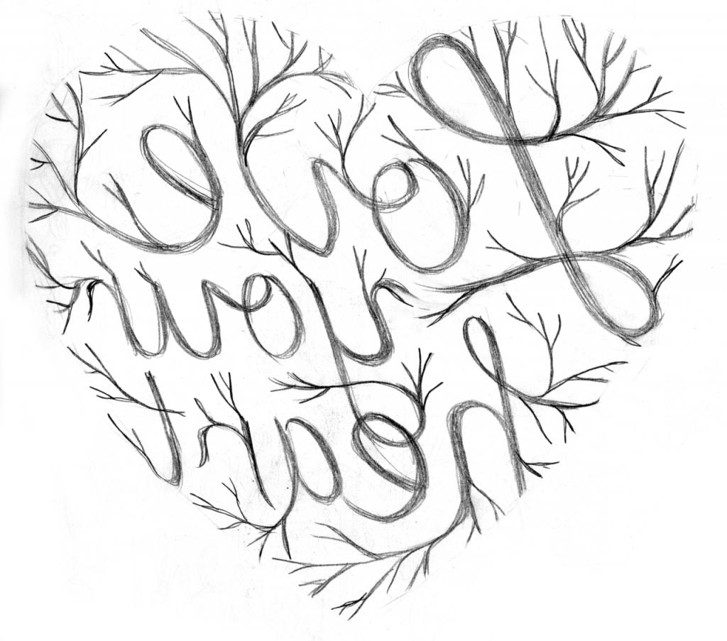 1024x903 Sketch Drawing Tumblr Real Heart Drawing Tumblr Sketch Coloring