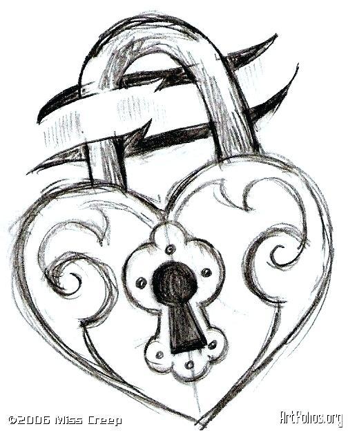 504x627 Pretty Heart Drawings Simple Heart Drawing Media