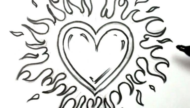 750x425 Cute Easy Drawings Easy Love Drawings Cute Easy Drawings Of Hearts