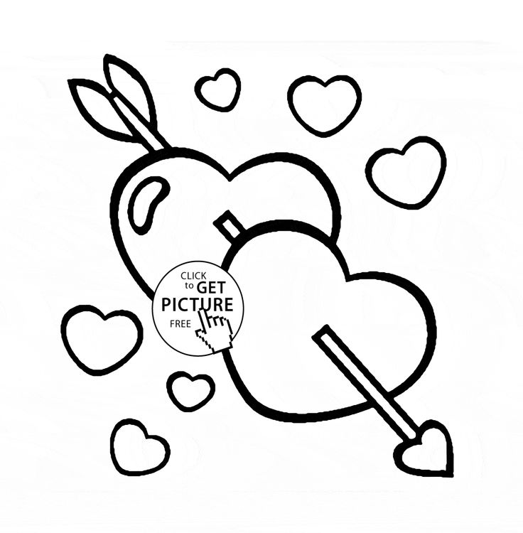 736x750 12 Best Hearts Coloring Pages Images On Heart, Hearts