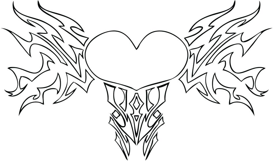 948x562 Wonderful Design Anatomical Heart Coloring Pages Real How To Draw
