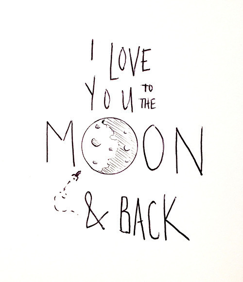 500x579 Moon Via Tumblr On We Heart It