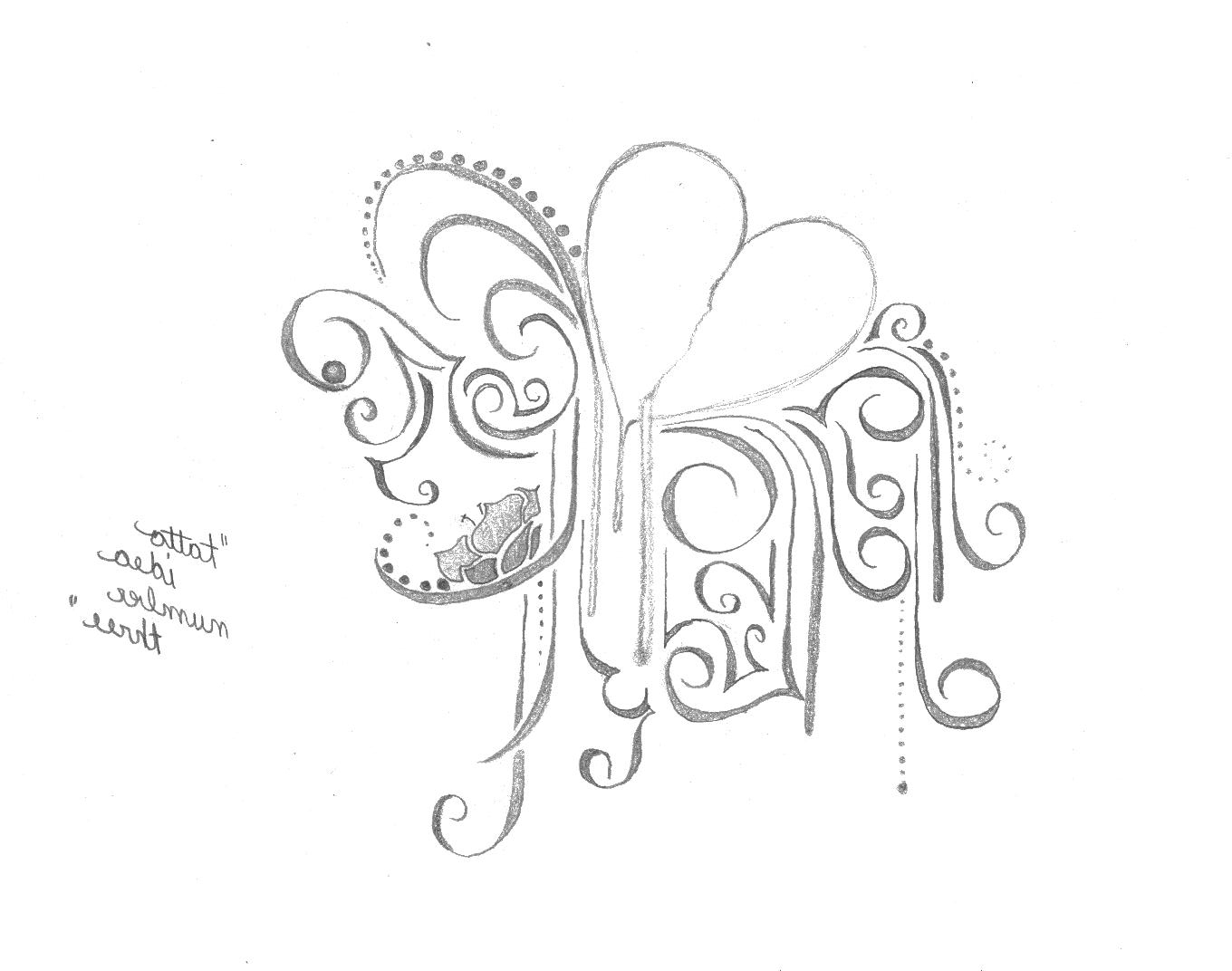 1360x1072 Hearts And Flowers Tattoo Designs Bleeding Heart Flower Sketch