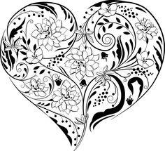 236x215 Resultado De Imagem Para Flower Black And White Drawing
