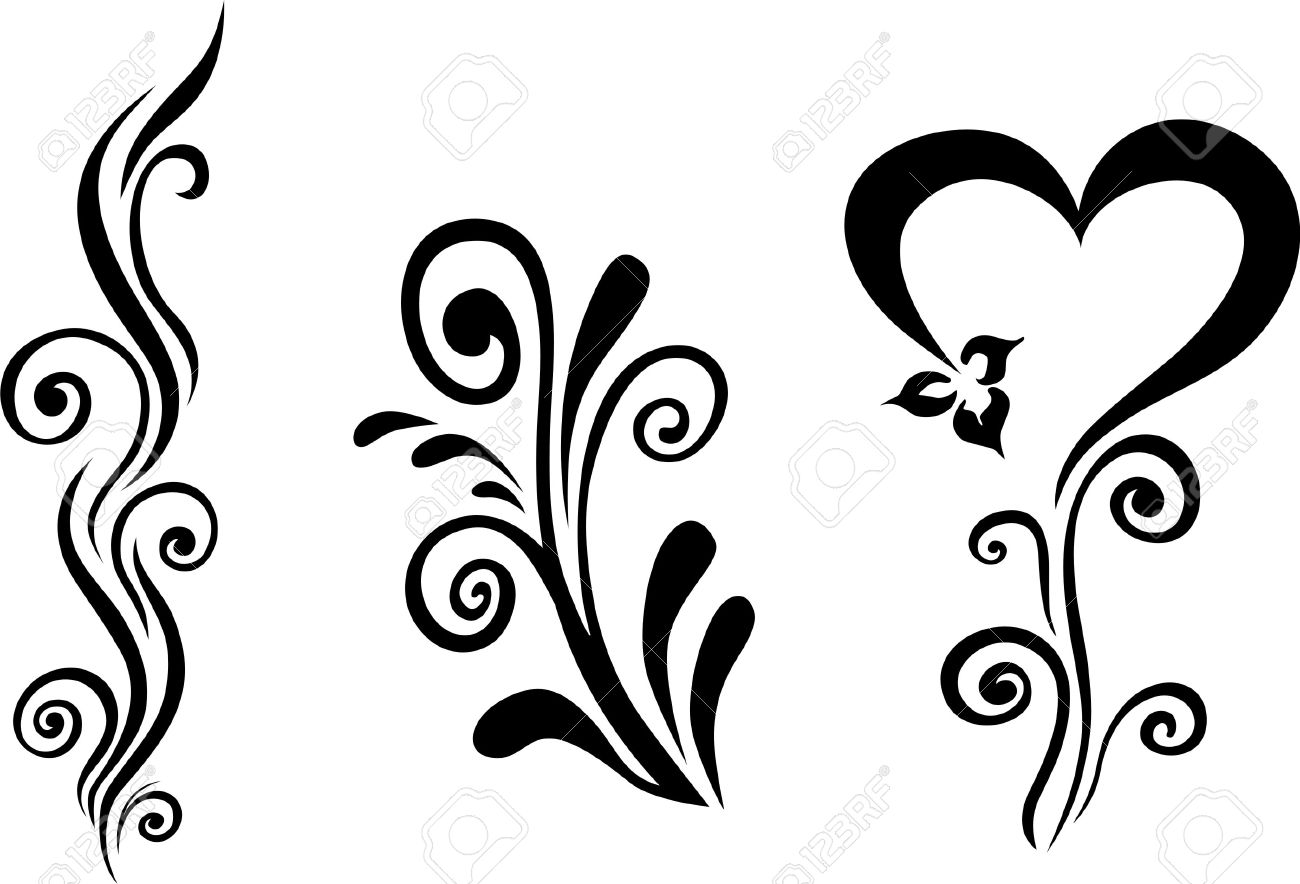 1300x884 Vector Floral Royalty Free Cliparts, Vectors, And Stock