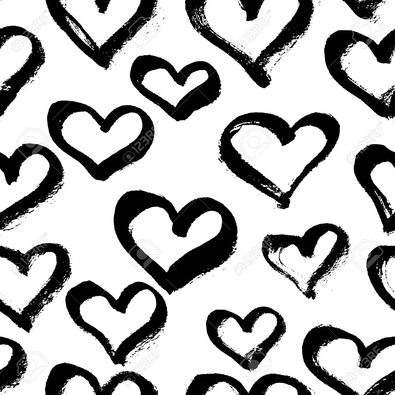 1300x1300 Drawn Pattern Heart