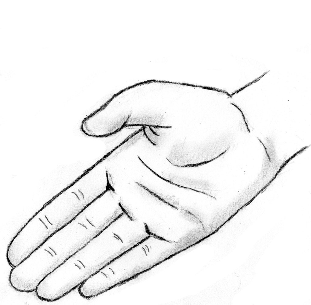 1024x1005 Easy Hand Drawings Pix For Gt Pencil Drawing Of Hands Making
