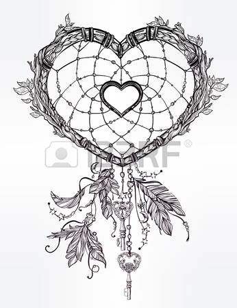346x450 Hand Drawn Romantic Drawing Of A Dream Of Collector In