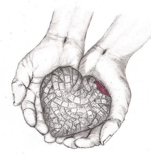 487x500 Hope In His Hands