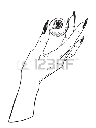 338x450 Human Heart In Graceful Female Hand Isolated. Sticker, Print