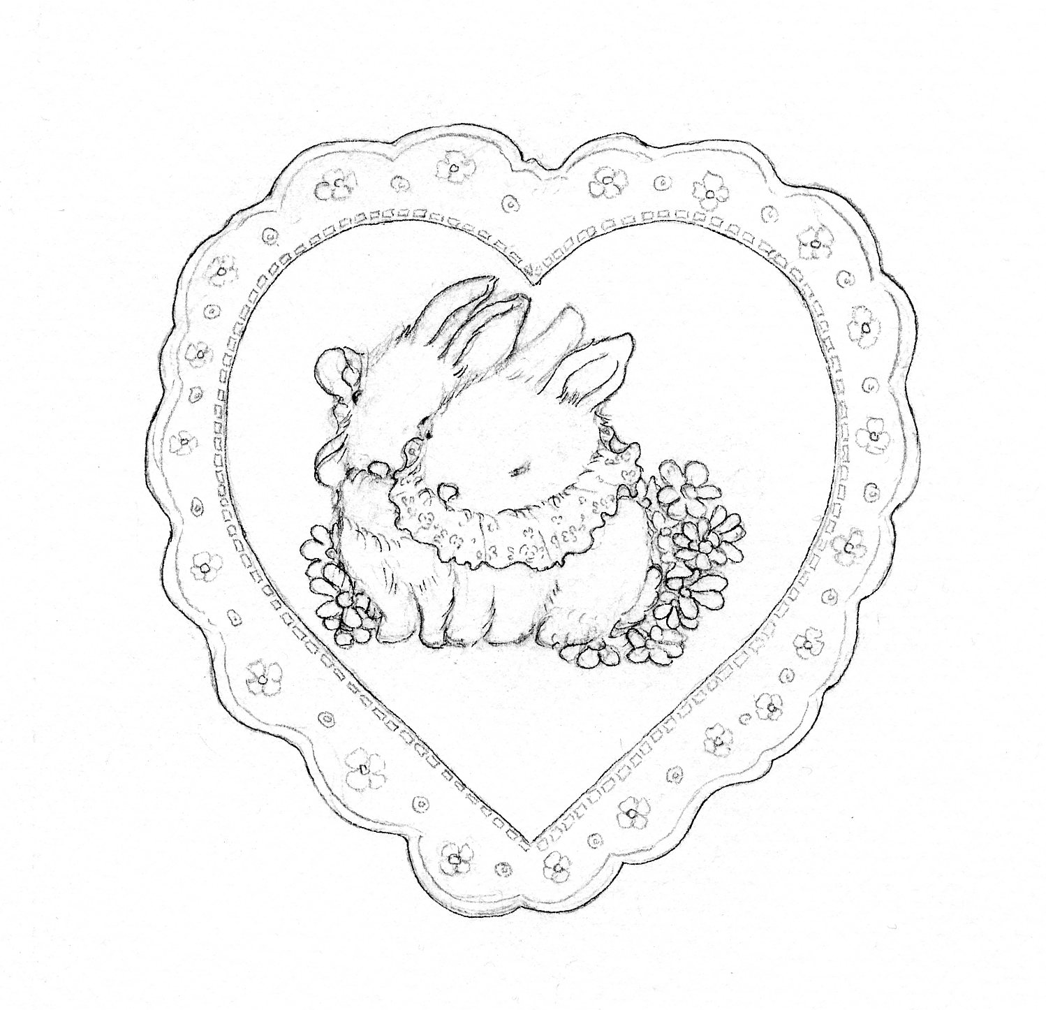 1498x1446 Learn How To Paint Lace On A Valentine Heart On Craftsy Heart