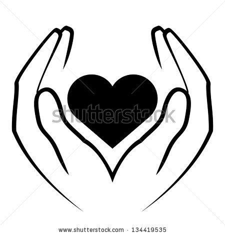 450x470 Advertisements. Heart Hands Drawing. I Heart You Teen Charcoal