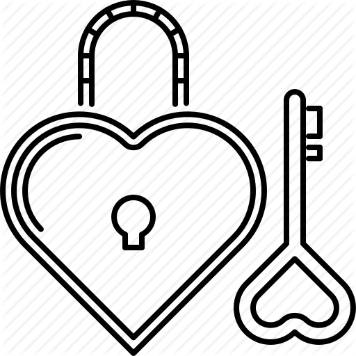 512x512 Day, Heart, Key, Lock, Love, Relationship, Valentine Icon Icon