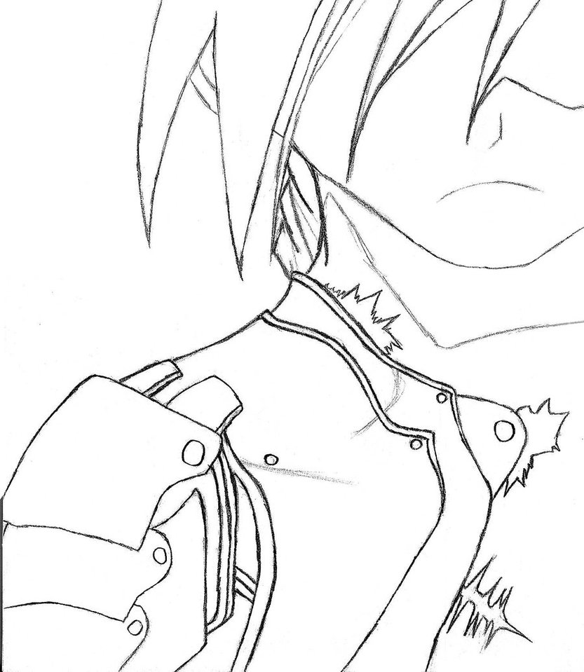 833x959 Fma Sketch By Dark Heart Key