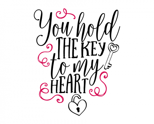 495x400 Key To My Heart Quotes