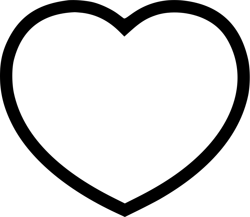 981x854 Heartline Svg Png Icon Free Download ( 492849)