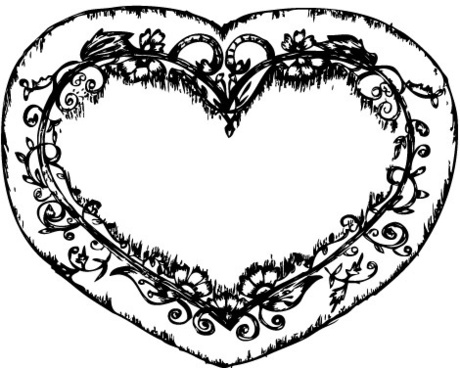 460x368 Human Heart Vector Free Vector Download (6,026 Free Vector)