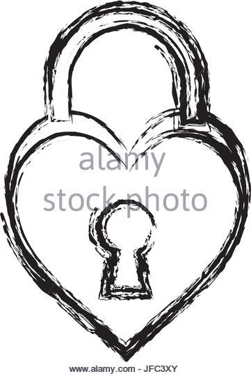 361x540 Heart Padlock Stock Photos Amp Heart Padlock Stock Images
