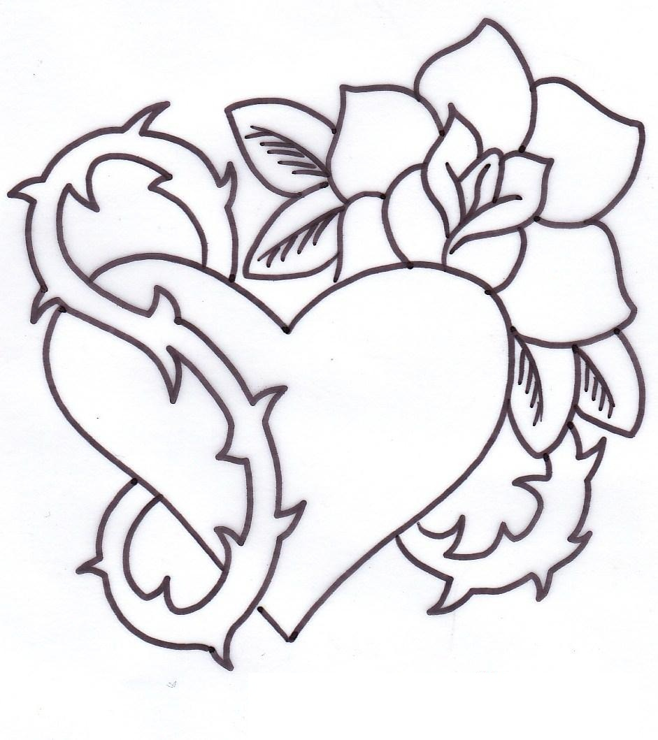 941x1059 Heart Tattoos Designs, Ideas And Meaning Tattoos For You