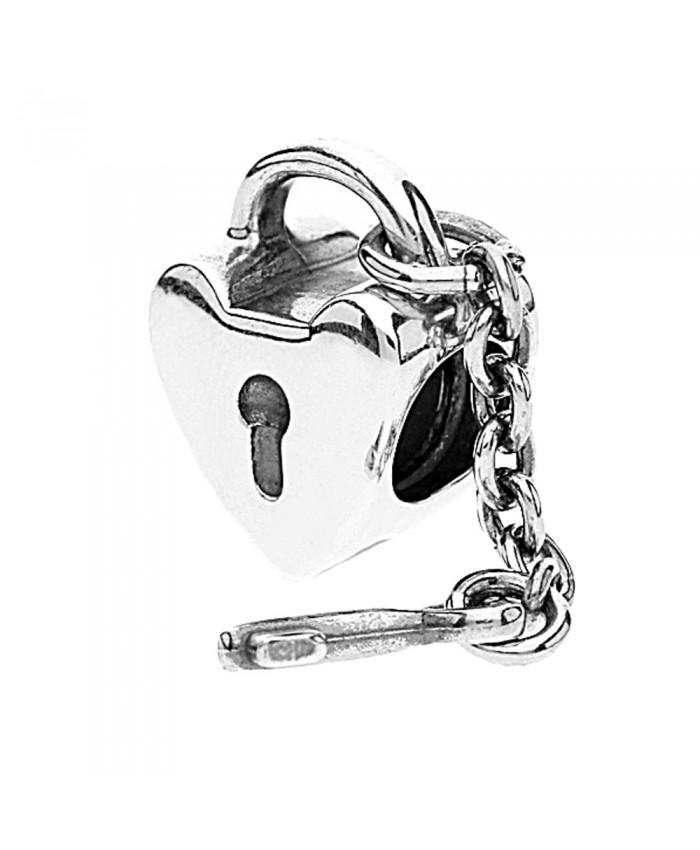 700x850 Pandora Silver Heart Lock And Key Bead 790971