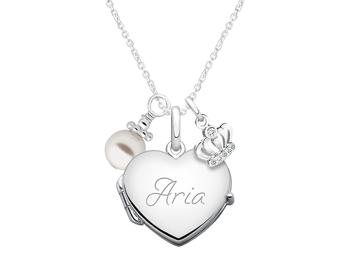722x525 Heart Create Your Own Locket With Layered Charms For Teens