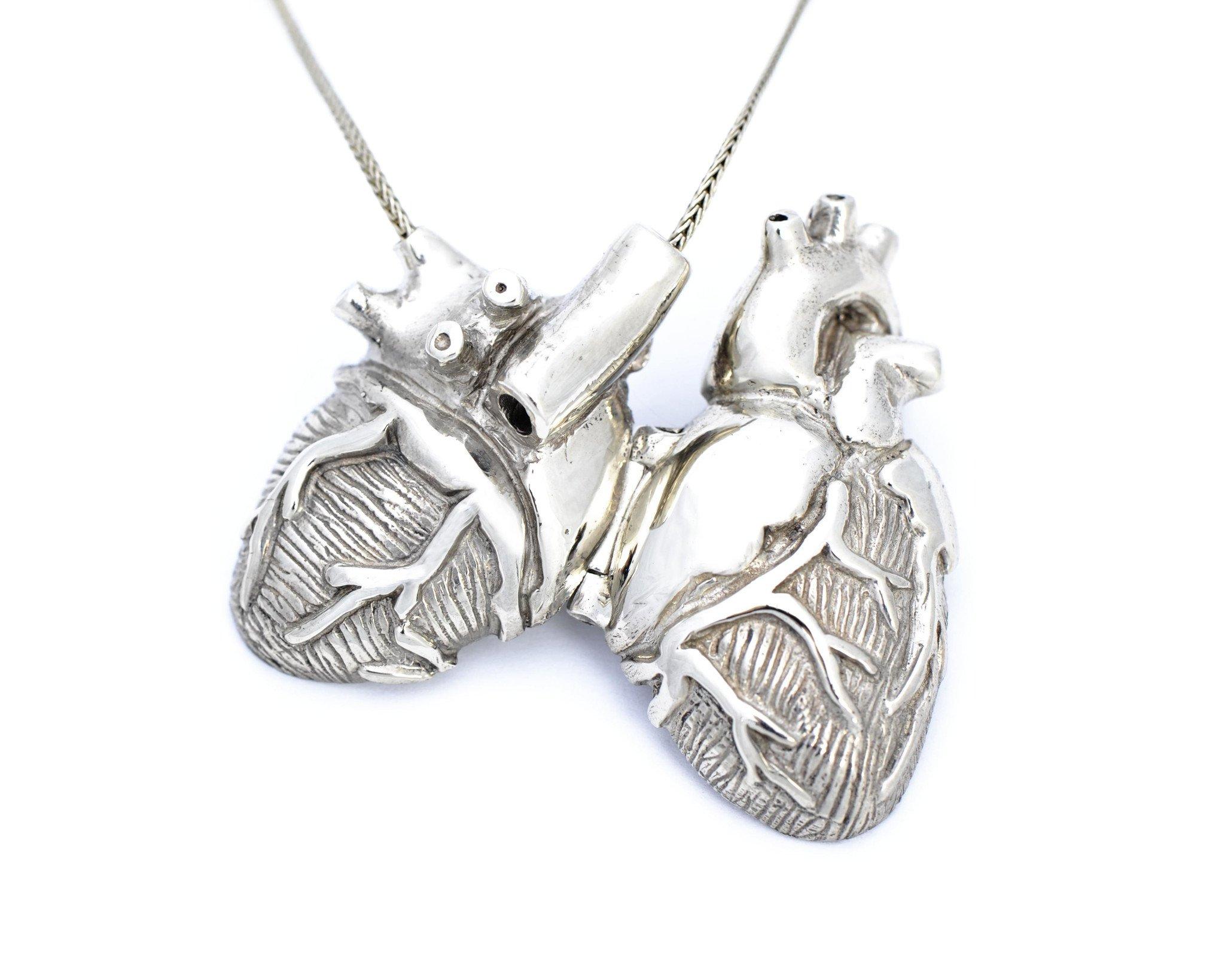 2048x1638 Bronze Anatomical Heart Locket