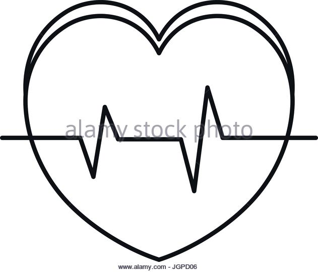 631x540 Heart Rate Black And White Stock Photos Amp Images