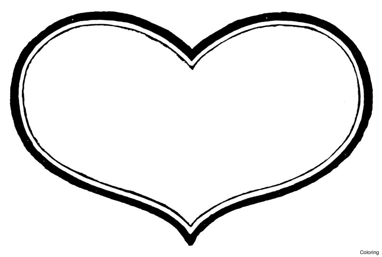 1283x862 Hearts Heart Clipart Free Images 2 Clipartix Clip Art Coloring 12f