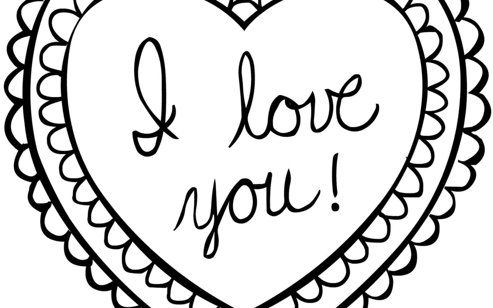 1680x1050 Valentines Coloring Page With Wallpapers Dual Monitor
